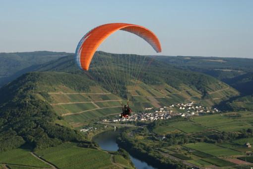 Tandem Gleitschirm fliegen NRW